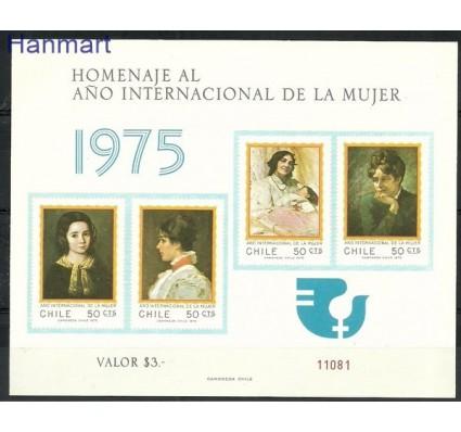 Chile 1975 Mi gedbl 842-845B Czyste **