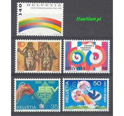 Znaczek Szwajcaria 1989 Mi 1397-1401 Czyste **