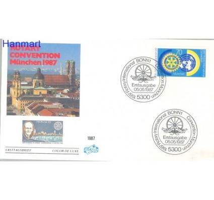 Znaczek Niemcy 1987 FDC