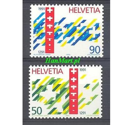 Znaczek Szwajcaria 1990 Mi 1421-1422 Czyste **