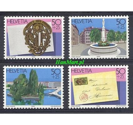 Znaczek Szwajcaria 1990 Mi 1427-1430 Czyste **