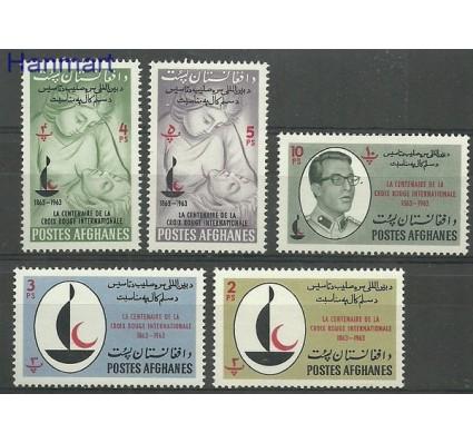 Znaczek Afganistan 1963 Mi 799-803 Czyste **