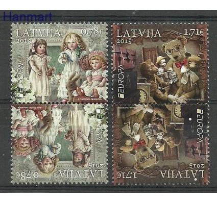 Znaczek Łotwa 2015 Mi 941-942 Czyste **