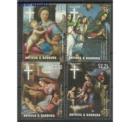 Znaczek Antigua i Barbuda 2014 Mi 5181-5184 Czyste **