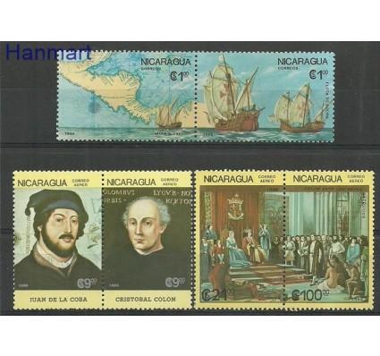 Znaczek Nikaragua 1986 Mi 2704-2709 Czyste **