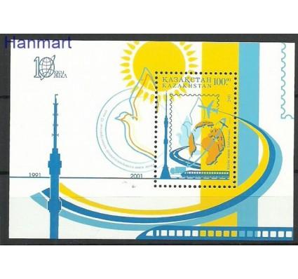 Znaczek Kazachstan 2001 Mi bl 19 Czyste **