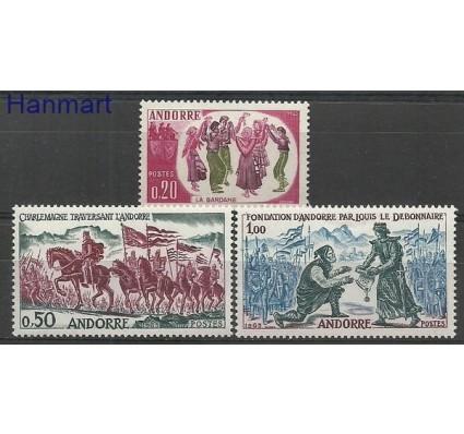 Znaczek Andora Francuska 1963 Mi 179-181 Czyste **