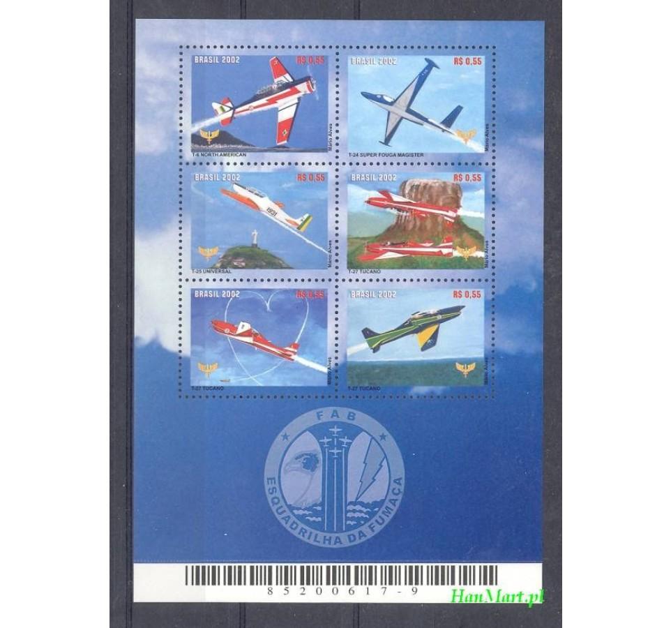 Brazylia 2002 Mi ark 3231-3236 Czyste **