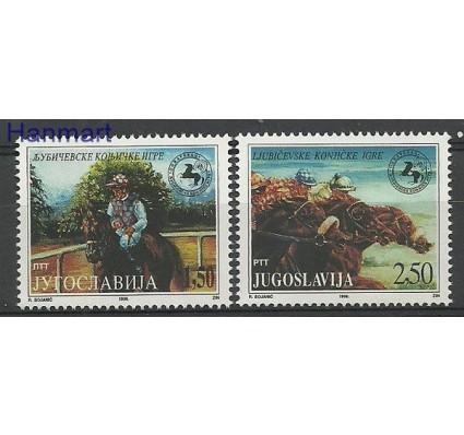 Znaczek Jugosławia 1996 Mi 2785-2786 Czyste **