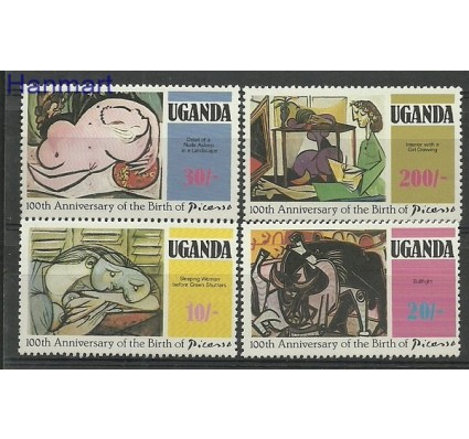 Znaczek Uganda 1981 Mi 306-309 Czyste **