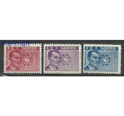 Znaczek Albania 1959 Mi 575-577 Czyste **