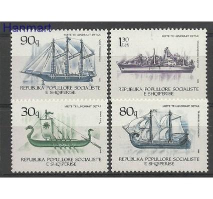 Znaczek Albania 1989 Mi 2405-2408 Czyste **
