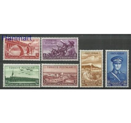 Znaczek Turcja 1938 Mi 1029-1034 Czyste **