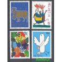 Szwajcaria 1996 Mi 1593-1596 Czyste **