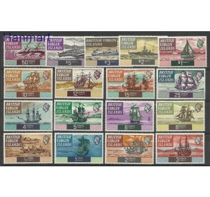 Znaczek Wyspy Dziewicze 1970 Mi 202-218 Czyste **