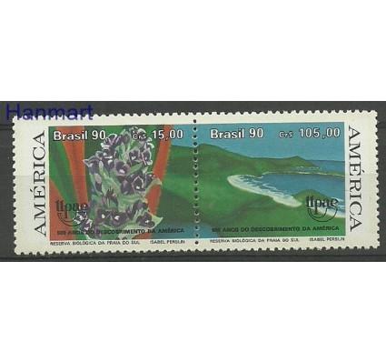 Znaczek Brazylia 1990 Mi 2381-2382 Czyste **