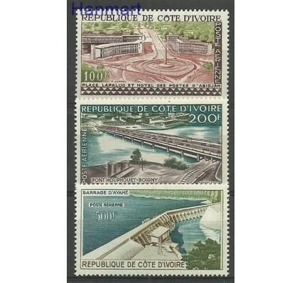 Znaczek Wybrzeże Kości Słoniowej 1959 Mi 207-209 Czyste **