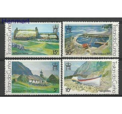Znaczek Tristan da Cunha 1978 Mi 234-237 Czyste **