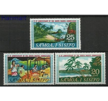 Znaczek Samoa i Sisifo 1968 Mi 174-176 Czyste **