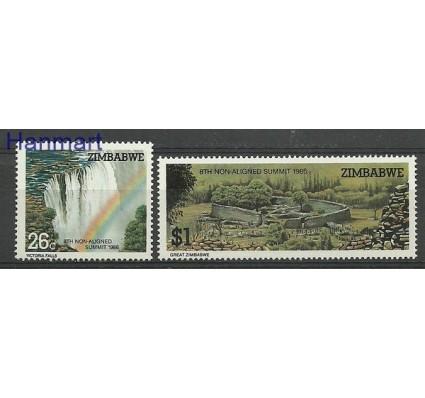 Znaczek Zimbabwe 1986 Mi 348-349 Czyste **