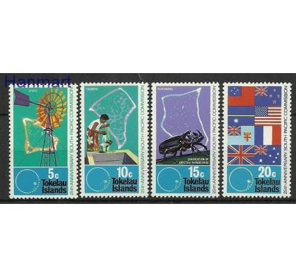 Znaczek Tokelau 1972 Mi 26-29 Czyste **
