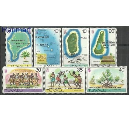 Znaczek Tuvalu 1978 Mi 72-78 Czyste **