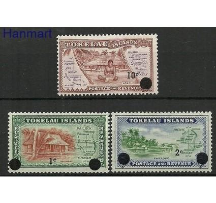 Znaczek Tokelau 1967 Mi 6-8 Czyste **