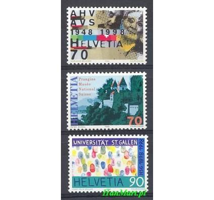 Znaczek Szwajcaria 1998 Mi 1640-1642 Czyste **