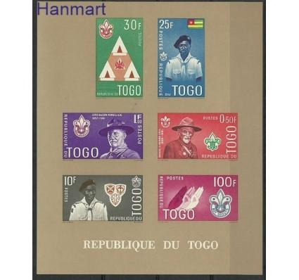 Znaczek Togo 1961 Mi bl 5Ib Czyste **