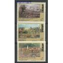 Urugwaj 1999 Mi 2453-2455 Czyste **