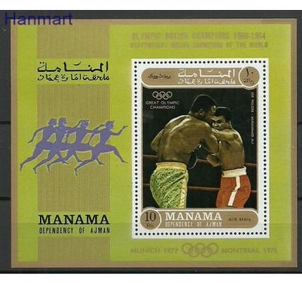 Znaczek Manama 1971 Mi bl 131 Czyste **