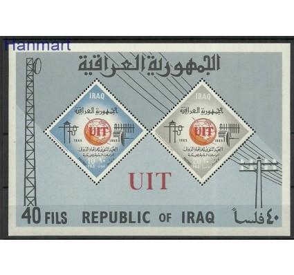 Znaczek Irak 1965 Mi bl 7 Czyste **
