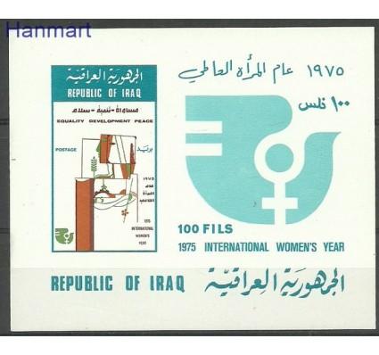 Znaczek Irak 1975 Mi bl 24 Czyste **