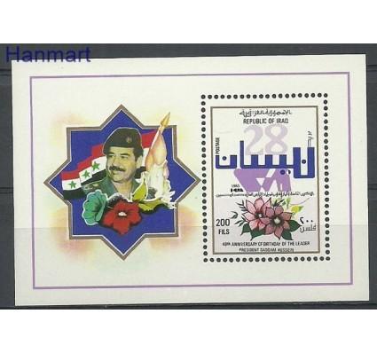 Znaczek Irak 1985 Mi bl 42 Czyste **