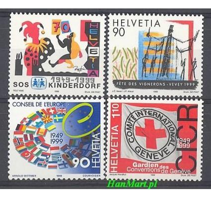 Znaczek Szwajcaria 1999 Mi 1686-1689 Czyste **