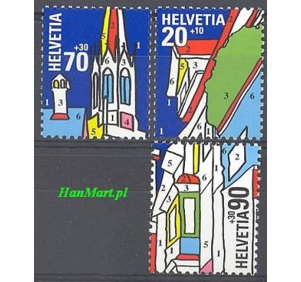 Znaczek Szwajcaria 1999 Mi 1692-1694 Czyste **