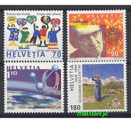 Znaczek Szwajcaria 1999 Mi 1695-1698 Czyste **