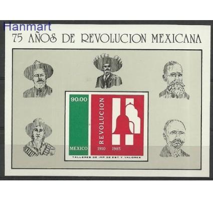 Znaczek Meksyk 1985 Mi bl 31 Czyste **