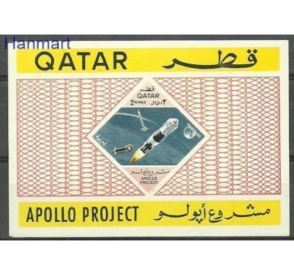 Znaczek Katar 1967 Mi bl 20 Czyste **