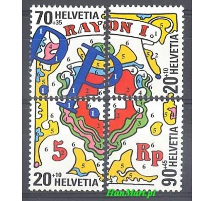 Znaczek Szwajcaria 2000 Mi 1722-1725 Czyste **
