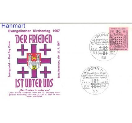 Znaczek Niemcy 1967 Mi 536 FDC