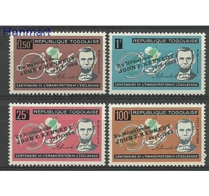 Znaczek Togo 1964 Mi 407-410 Czyste **