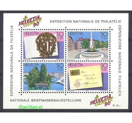Znaczek Szwajcaria 1990 Mi bl 26 Czyste **