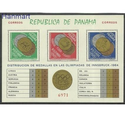 Znaczek Panama 1965 Mi bl 28 Czyste **