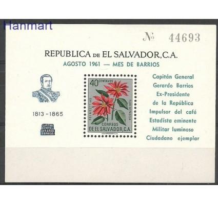 Znaczek Salwador 1961 Mi bl 10 Czyste **