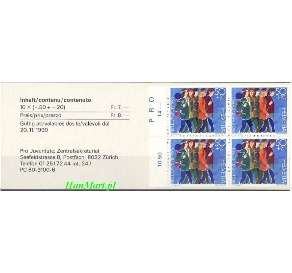 Szwajcaria 1990 Mi mh 0-88 Czyste **
