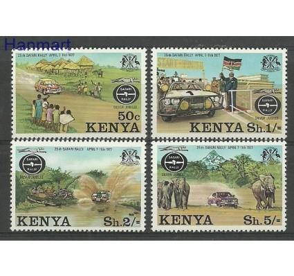 Znaczek Kenia 1977 Mi 74-77 Czyste **