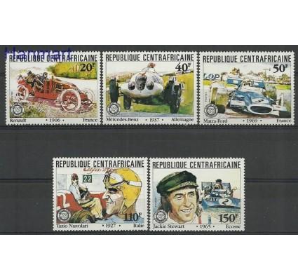 Znaczek Republika Środkowoafrykańska 1981 Mi 776-780 Czyste **