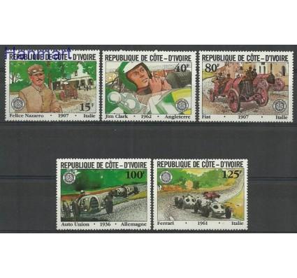 Znaczek Wybrzeże Kości Słoniowej 1981 Mi 706-710 Czyste **