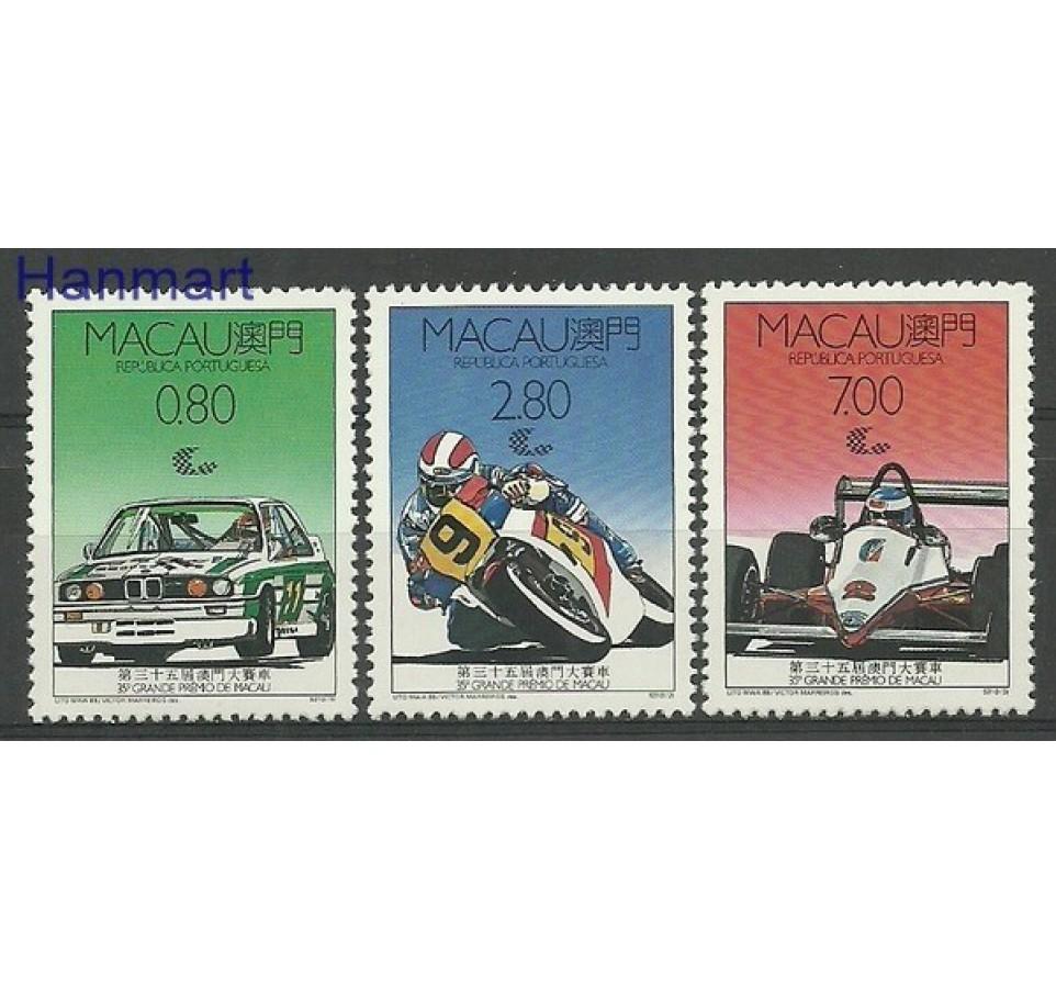 Makau 1988 Mi 608-610 Czyste **